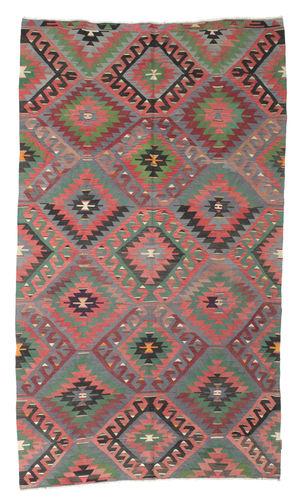 Tapis Kilim semi-antique Turquie XCGZK207