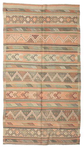 Tapis Kilim semi-antique Turquie XCGZK177