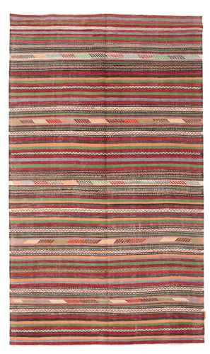 Kilim semi antique Turkish carpet XCGZK460