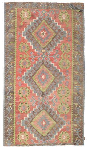 Kilim semi antique Turkish carpet XCGZK777