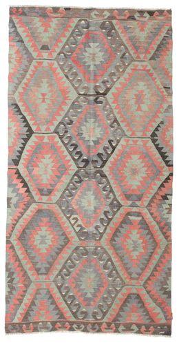 Kilim semi antique Turkish carpet XCGZK765