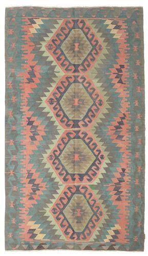 Kelim halvt antikke Tyrkiske teppe XCGZK733