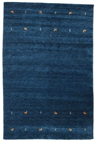 Gabbeh loom Two Lines - Dark Blue carpet CVD14988
