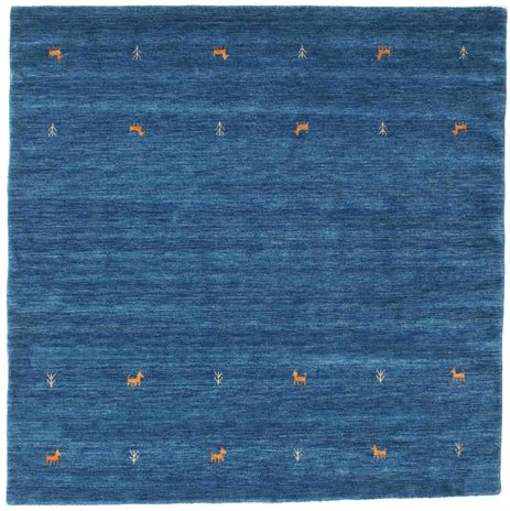 Gabbeh loom Two Lines - Sininen-matto CVD15073