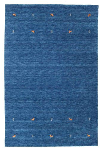 Gabbeh loom Two Lines - Blue carpet CVD15068
