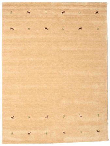 Gabbeh loom Two Lines - Beige carpet CVD15113