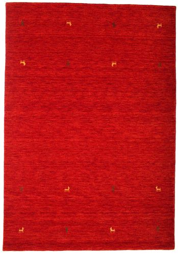 Gabbeh loom Two Lines - Rust_Red carpet CVD15011