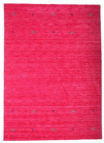 Gabbeh loom Two Lines - Dark_Pink carpet CVD15302