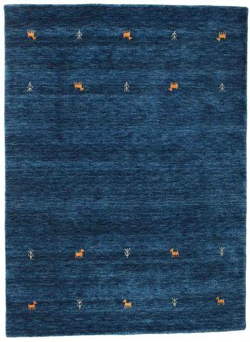 Gabbeh loom Two Lines - Dark Blue carpet CVD14974