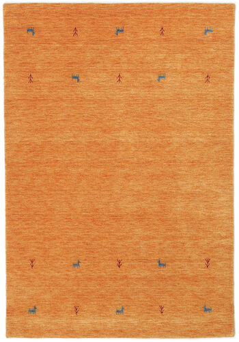 Gabbeh loom Two Lines - Orange carpet CVD15041
