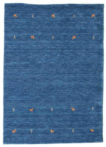 Gabbeh loom Two Lines - Blue carpet CVD15074