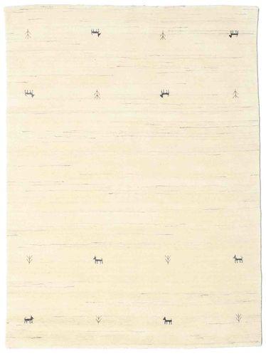 Gabbeh loom Two Lines - Naturvit matta CVD15059