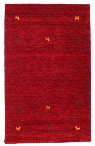 Gabbeh loom Two Lines - Dark Red carpet CVD15032
