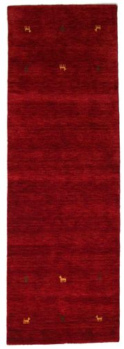 Gabbeh loom Two Lines - Dark Red rug CVD15024