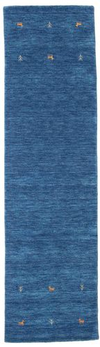 Gabbeh loom Two Lines - Blå teppe CVD15066