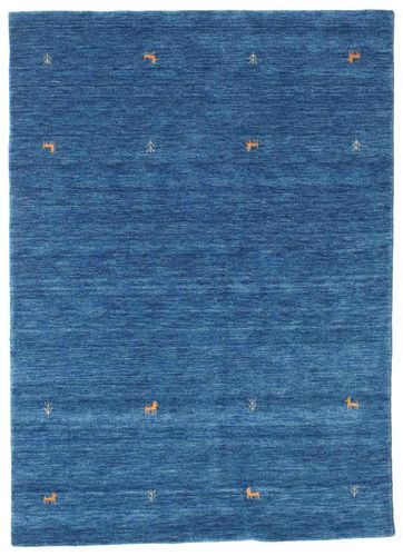Gabbeh loom Two Lines - Blue carpet CVD15071