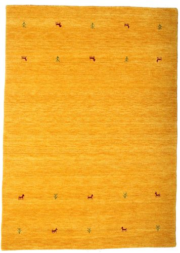 Gabbeh loom Two Lines - Yellow carpet CVD14996