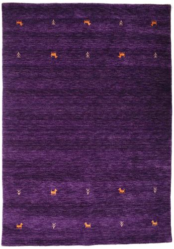 Gabbeh loom Two Lines - Purple carpet CVD15287