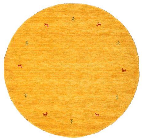 ギャッベ ルーム Two Lines - 黄色 絨毯 CVD15003