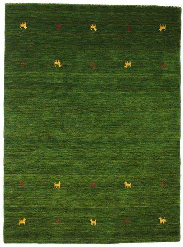 Gabbeh loom Two Lines - Dark Green carpet CVD15104