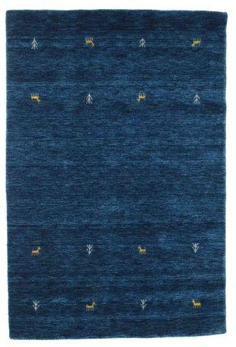 Gabbeh loom Two Lines - Dark Blue carpet CVD14986