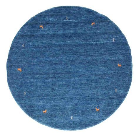 Gabbeh loom Two Lines - Sininen-matto CVD15072