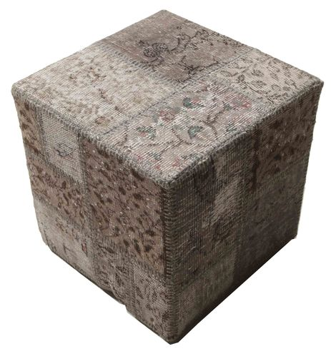 Patchwork stool ottoman teppe BHKW35