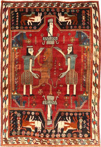 カシュガイ 絨毯 RXZF113