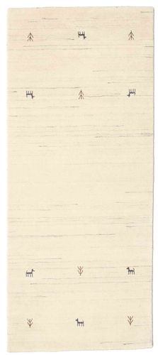 Gabbeh loom Two Lines - Off White rug CVD15060