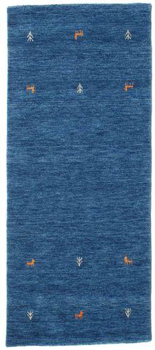 Gabbeh loom Two Lines - Blue rug CVD15075