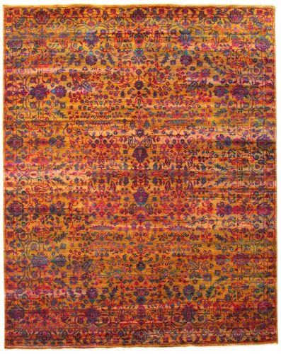 Sari pure silk carpet ORC6