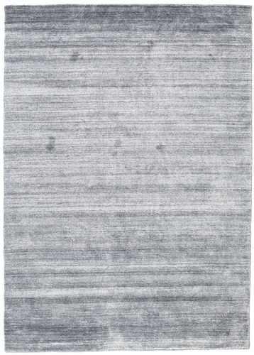 Bambus Seide Loom Denim Blau 140x200 Carpetvista