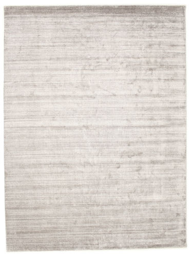 Bamboo silk Loom - Light Grey / Beige rug CVD15220