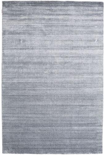 Bamboo silke Loom - Denim Blå teppe CVD15245