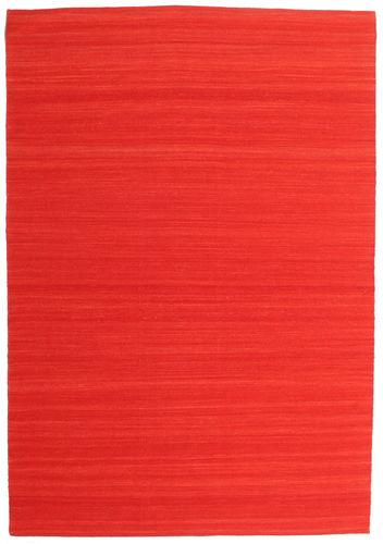 Kelim Loom - Rust_Red Teppich CVD14901