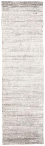 Bambus silke Loom - Warm Grå tæppe CVD15225