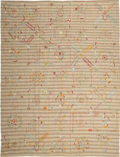 Kilim Suzani carpet ABCU85