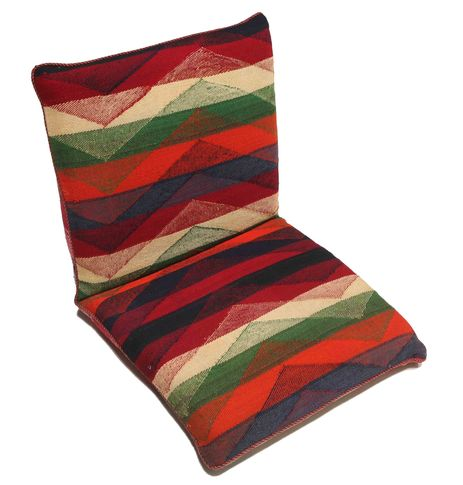 Tapis Kilim sitting cushion RZZZL31