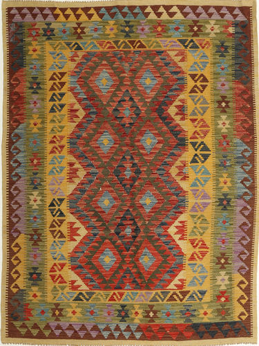 Kilim Afghan Old style carpet AXVQ774
