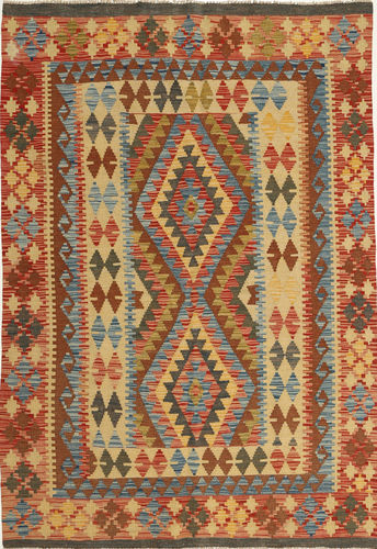 Kilim Afghan Old style carpet AXVQ162