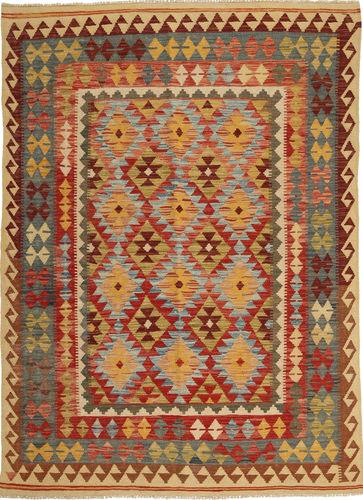 Kilim Afghan Old style carpet AXVQ160
