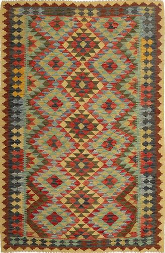 Kilim Afghan Old style carpet AXVQ677