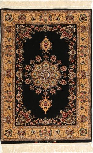 Isfahan silkerenning signert: Davari teppe AXVZC638