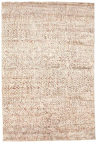 Damask  tæppe 204x305 Moderne Tæppe