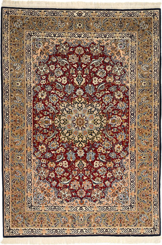 Isfahan silk warp carpet AXVZC608