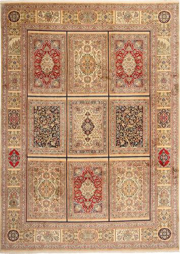 Kashmir ren silke teppe AXVZH8