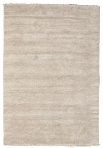 Handloom fringes - Lys Grå / Beige teppe CVD16596