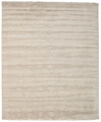 Handloom fringes - Light Grey / Beige rug CVD16589