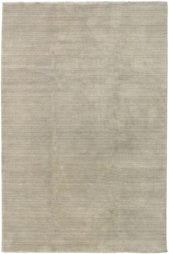 Handloom fringes - Lys Grå / Beige teppe CVD16590