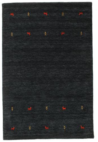 Gabbeh loom Two Lines - Black / Grey carpet CVD16760